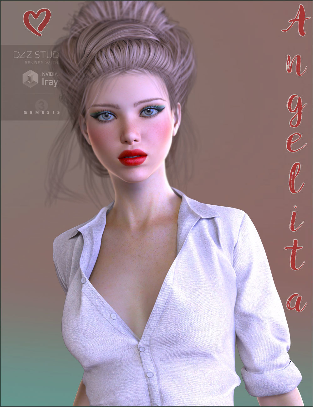 TDT-Angelita for Genesis 3 Female