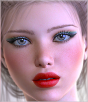 TDT-Angelita for Genesis 3 Female 3D Figure Assets Deva3D