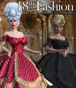18th Fashion for G3 females and G8 females by powerage