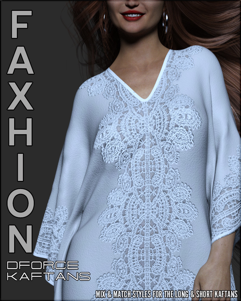 Faxhion - dForce Kaftans