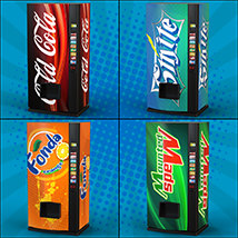 Exnem Vending Machines Soda Cans for Daz Studio and Iray image 3