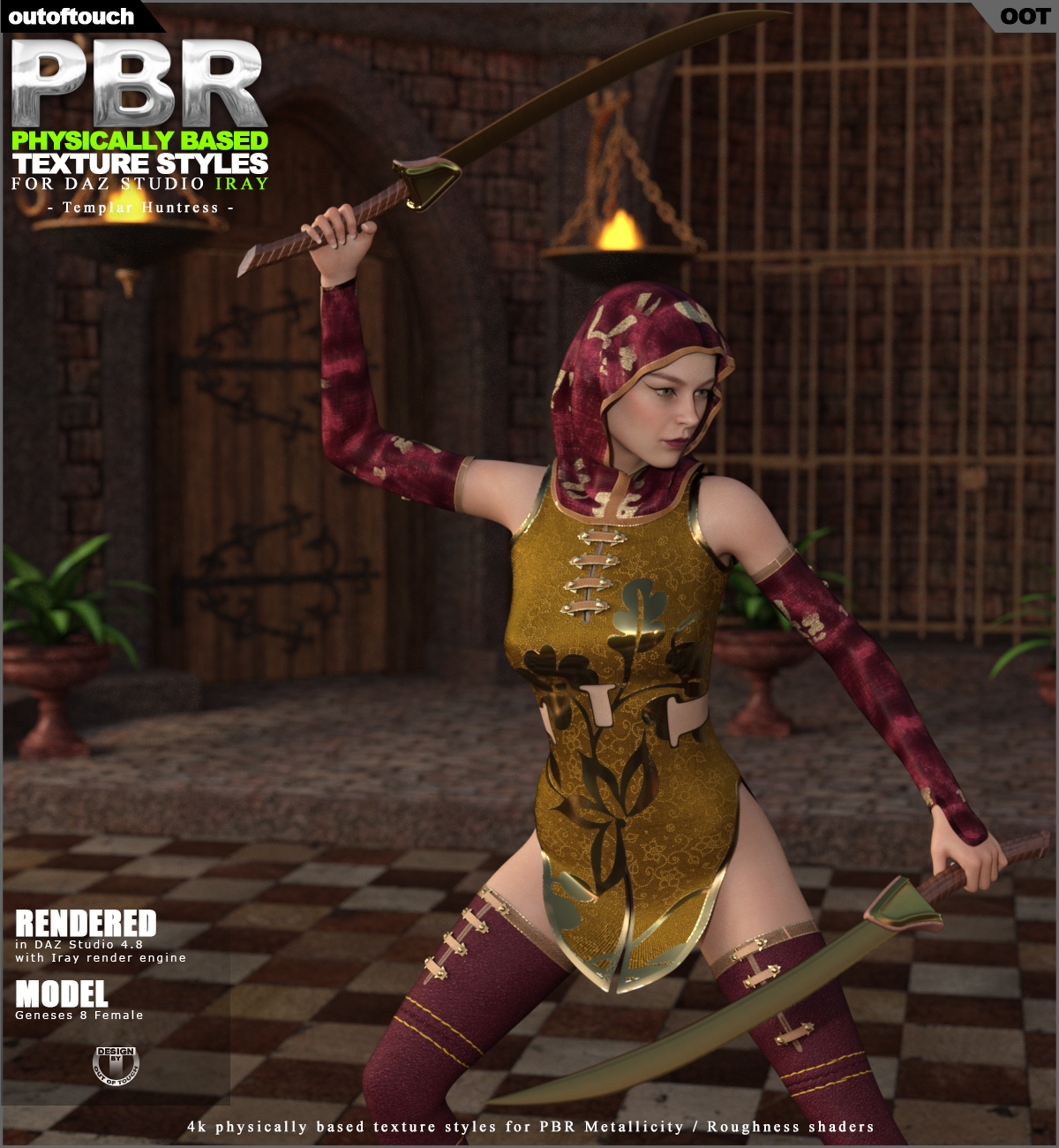 OOT PBR Texture Styles for Templar Huntress
