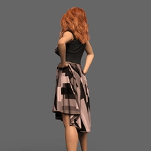 The Risque Flutter Dress for Genesis 8 Female image 5