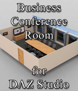 Business Conference Room - for DAZ Studio  3D Models VanishingPoint