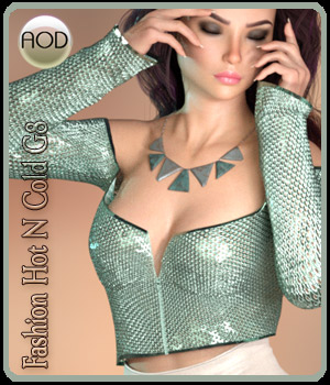 Fashion: Hot N Cold G8 3D Figure Assets ArtOfDreams