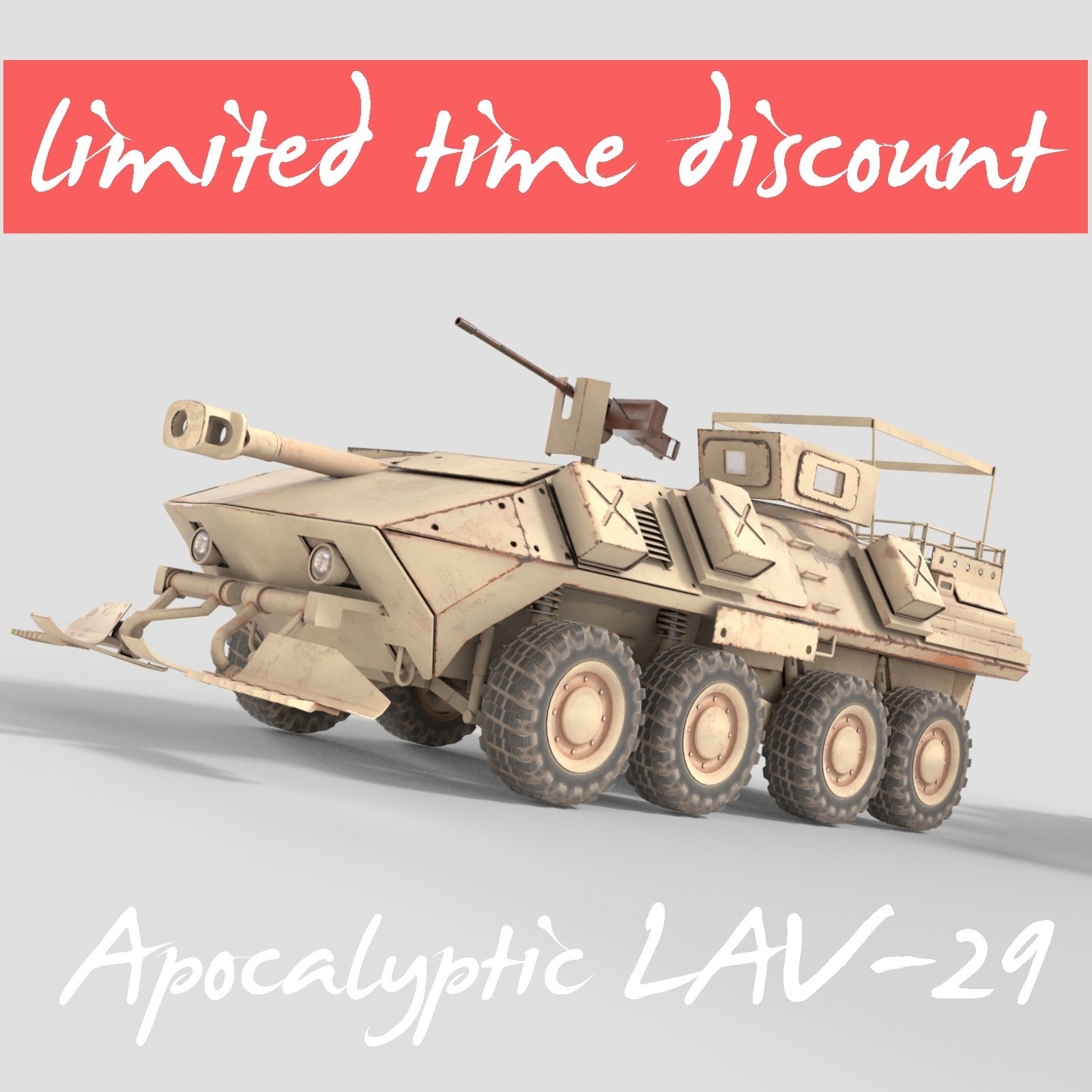 Apocalyptic LAV 25 - Extended License by MohamedAmir