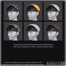 F.L.E. for G3F Addon 1 and 2 PBR Textures image 1