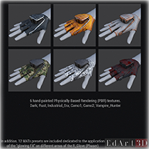 F.L.E. for G3F Addon 1 and 2 PBR Textures image 2