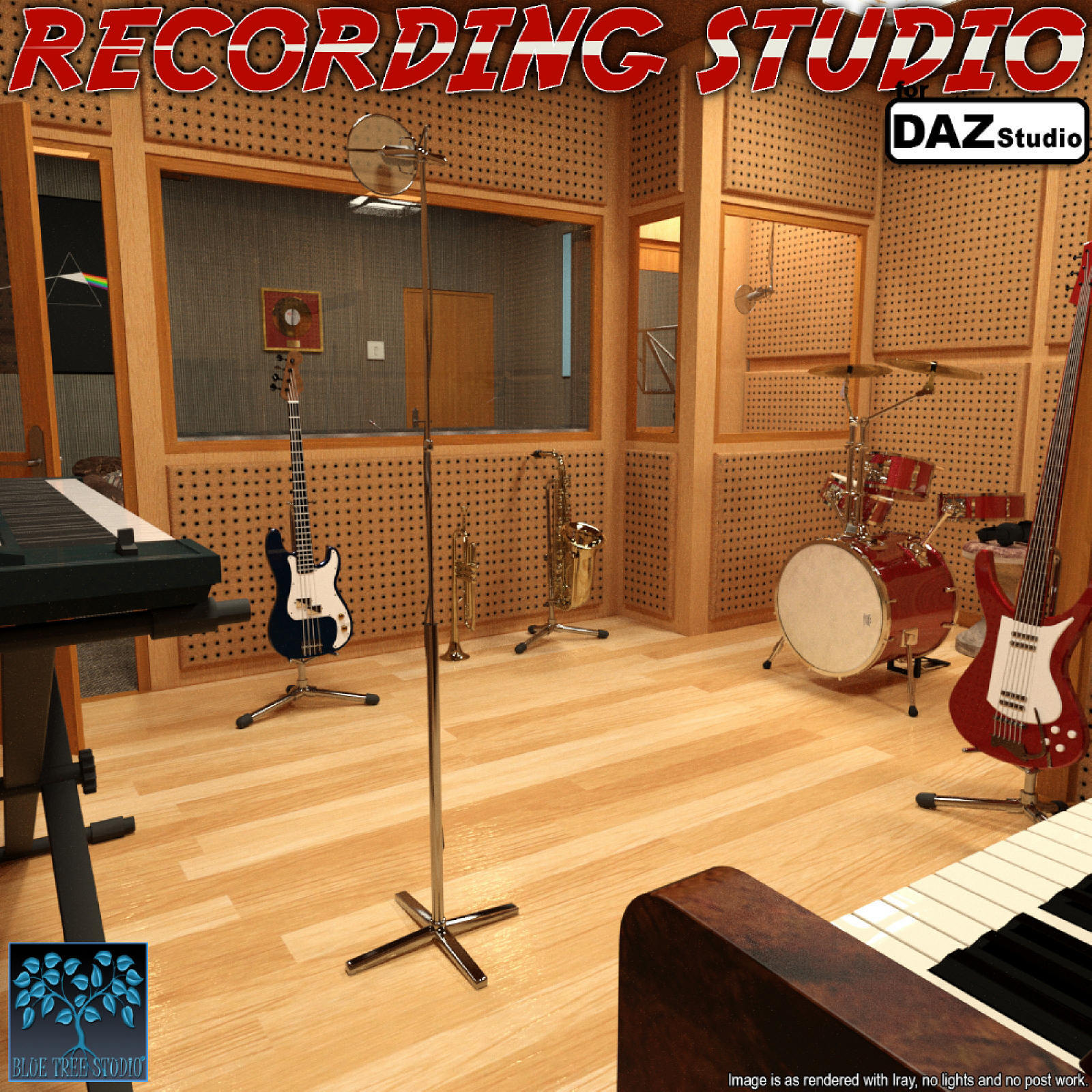 Recording Studio for Daz Studio