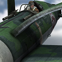 Steampunk Torpedo Bomber - Extended License image 3