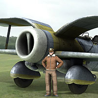 Steampunk Torpedo Bomber - Extended License image 7