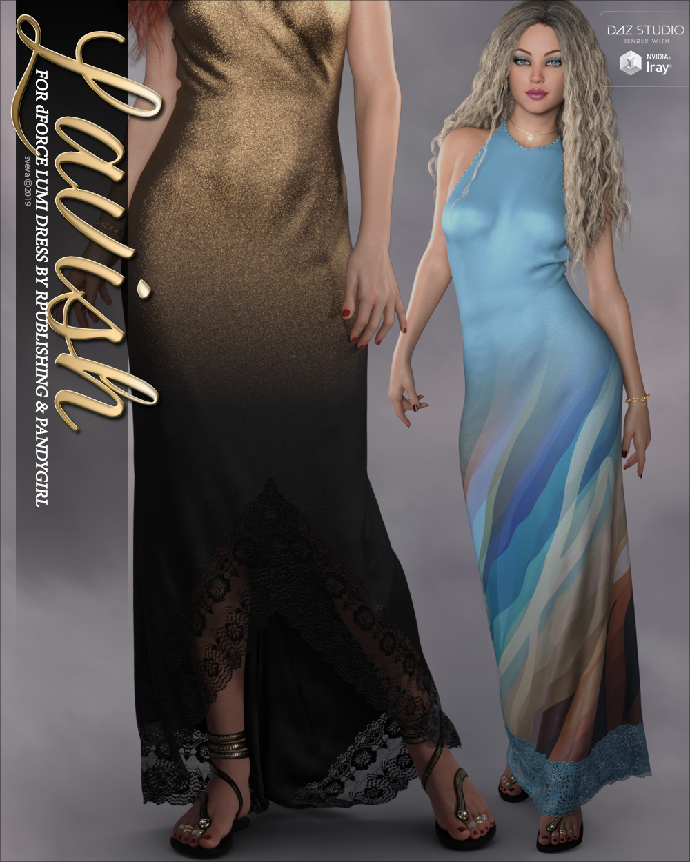 Lavish for dForce Lumi Dress