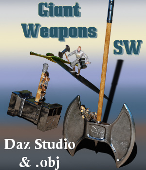 Giant Weapons SW 3D Models SilentWinter