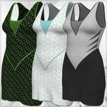 Jacky Dress and 14 Styles for PE, V4, Dawn and Pauline image 8