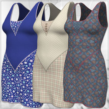 Jacky Dress and 14 Styles for PE, V4, Dawn and Pauline image 9