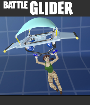 Battle Glider  3D Models apcgraficos