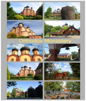 Orthodox Monastery 2D Graphics vvaldmann