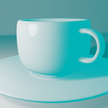 Cup and Plate - Extended License image 1
