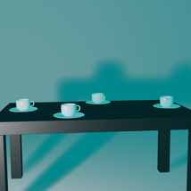 Cup and Plate - Extended License image 2
