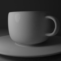 Cup and Plate - Extended License image 5