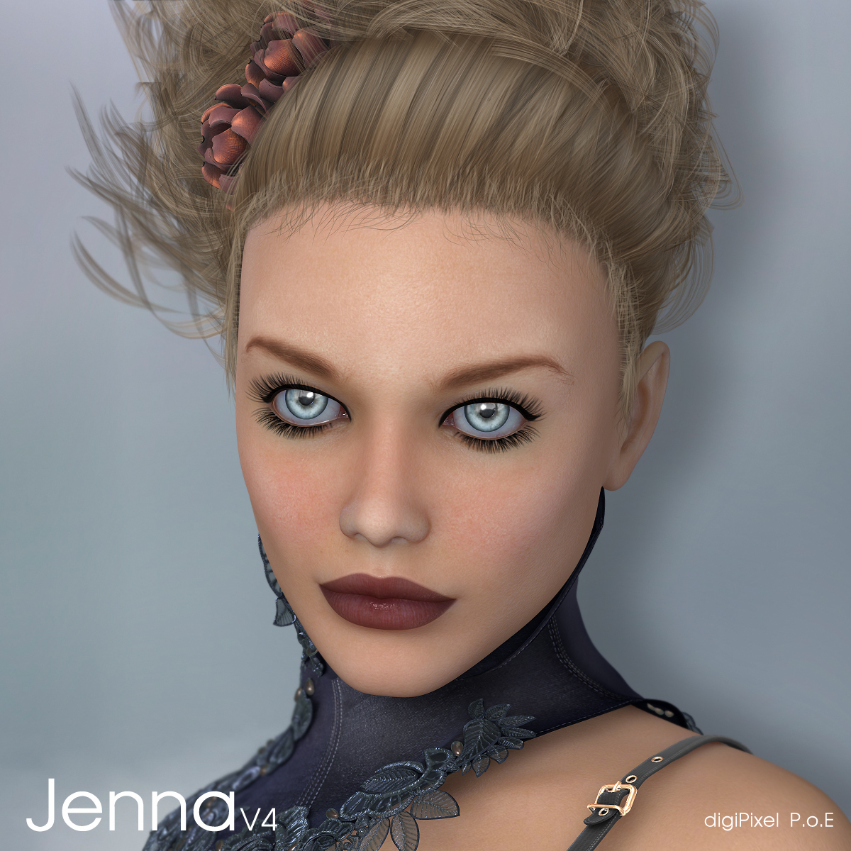 Jenna - V4 Girl by digiPixel