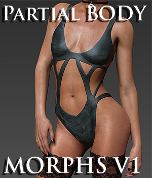 Partial Body Morphs G8F Vol 1  3D Figure Assets Merchant Resources Anagord