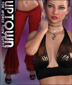 Uptown for dForce Flow G8F 3D Figure Assets Sveva
