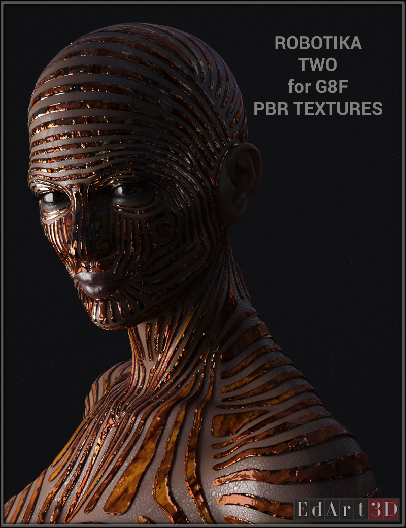 ROBOTIKA-TWO for G8F PBR Textures