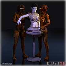 ROBOTIKA-ONE for G8F PBR Textures image 11