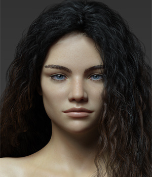 Irena G8F 3D Figure Assets Anagord