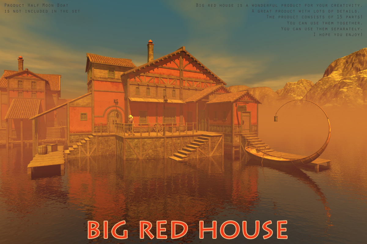 Big red house by 1971s