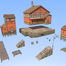 Big red house image 3