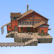 Big red house image 4