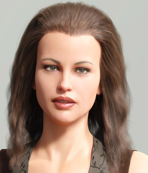 Backcombed Hair for Genesis 3 and 8 Males and Females 3D Figure Assets PhilW
