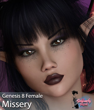 SublimelyVexed Missery Genesis 8 Female 3D Figure Assets 3DSublimeProductions