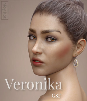 Veronika for Genesis 8 Female 3D Figure Assets MoyKot