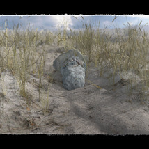 3D Scenery: Dried Out River for Poser image 2