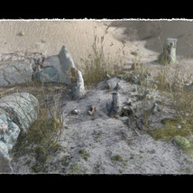 3D Scenery: Dried Out River for Poser image 3