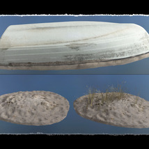3D Scenery: Dried Out River for Daz Studio image 5