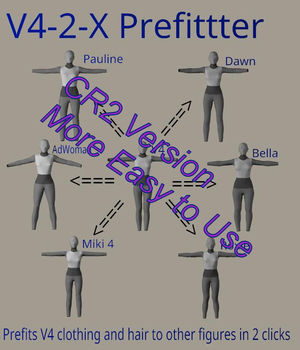 Prefitter_CR2 Marvelous Edition 3D Figure Assets Merchant Resources FVerbaas