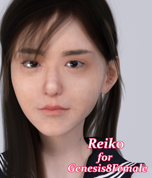 Reiko for Genesis8 Female 3D Figure Assets natrium