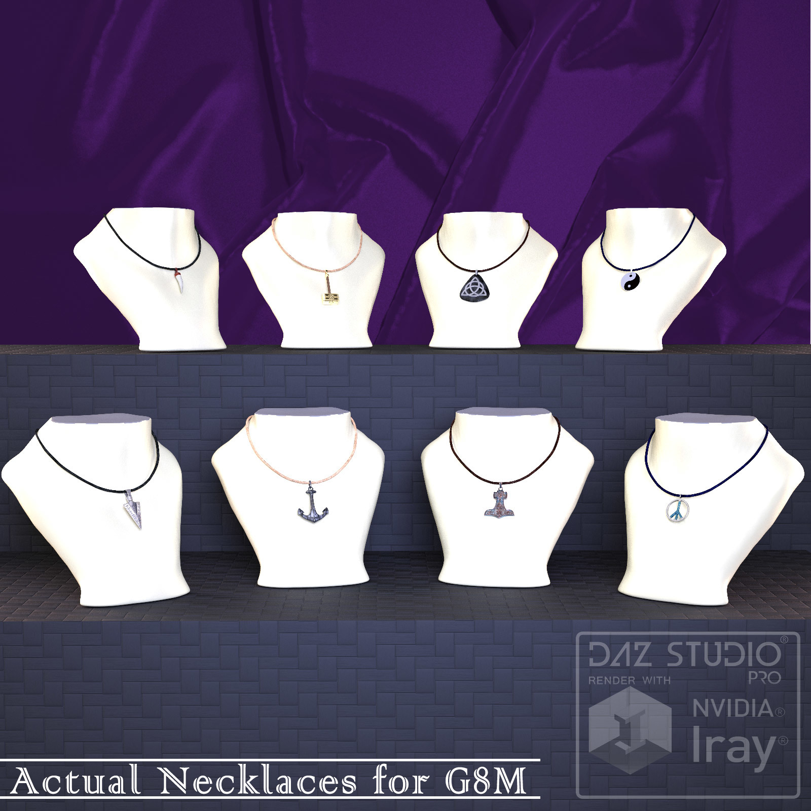 Actual Necklaces for G8M