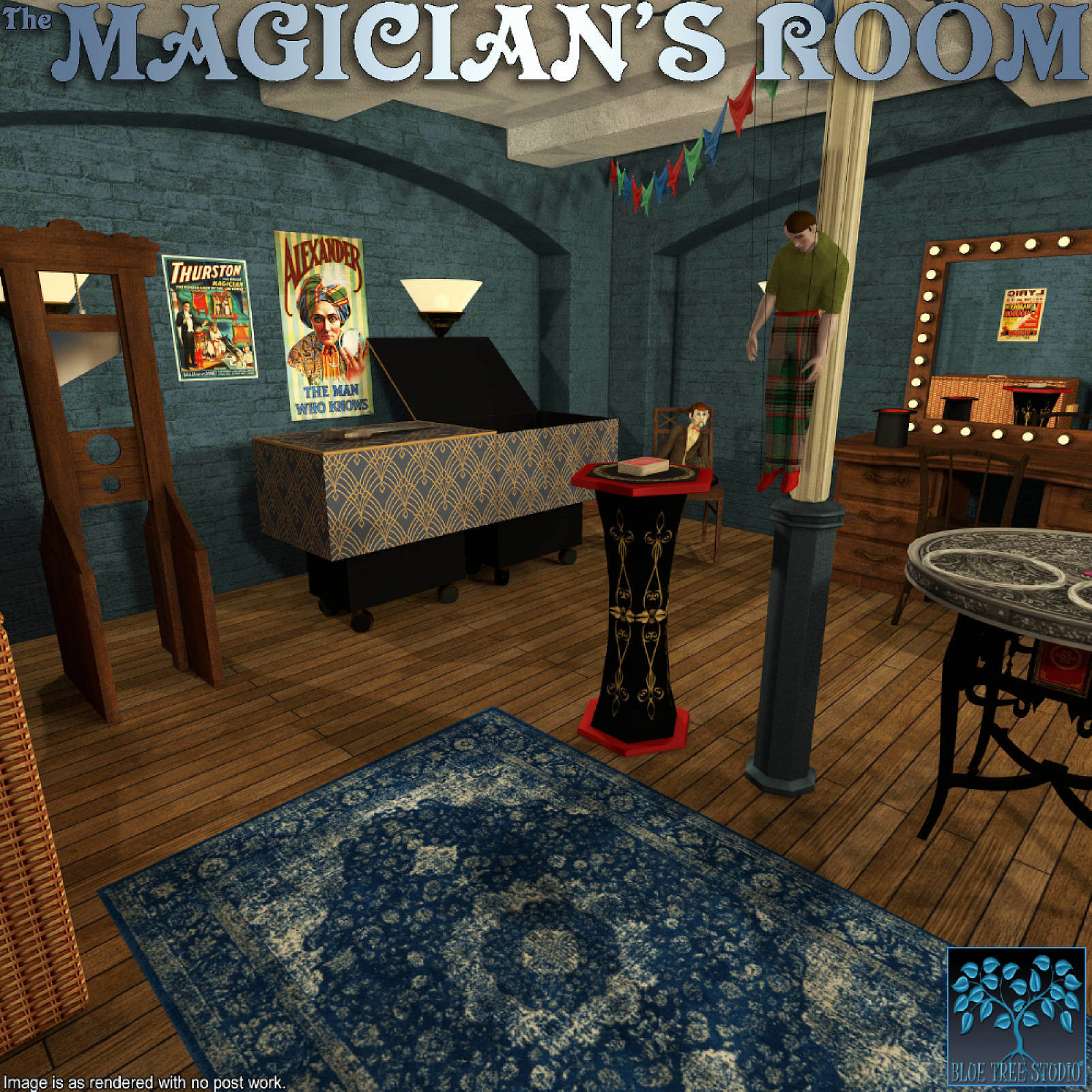 The Magician's Room for Poser