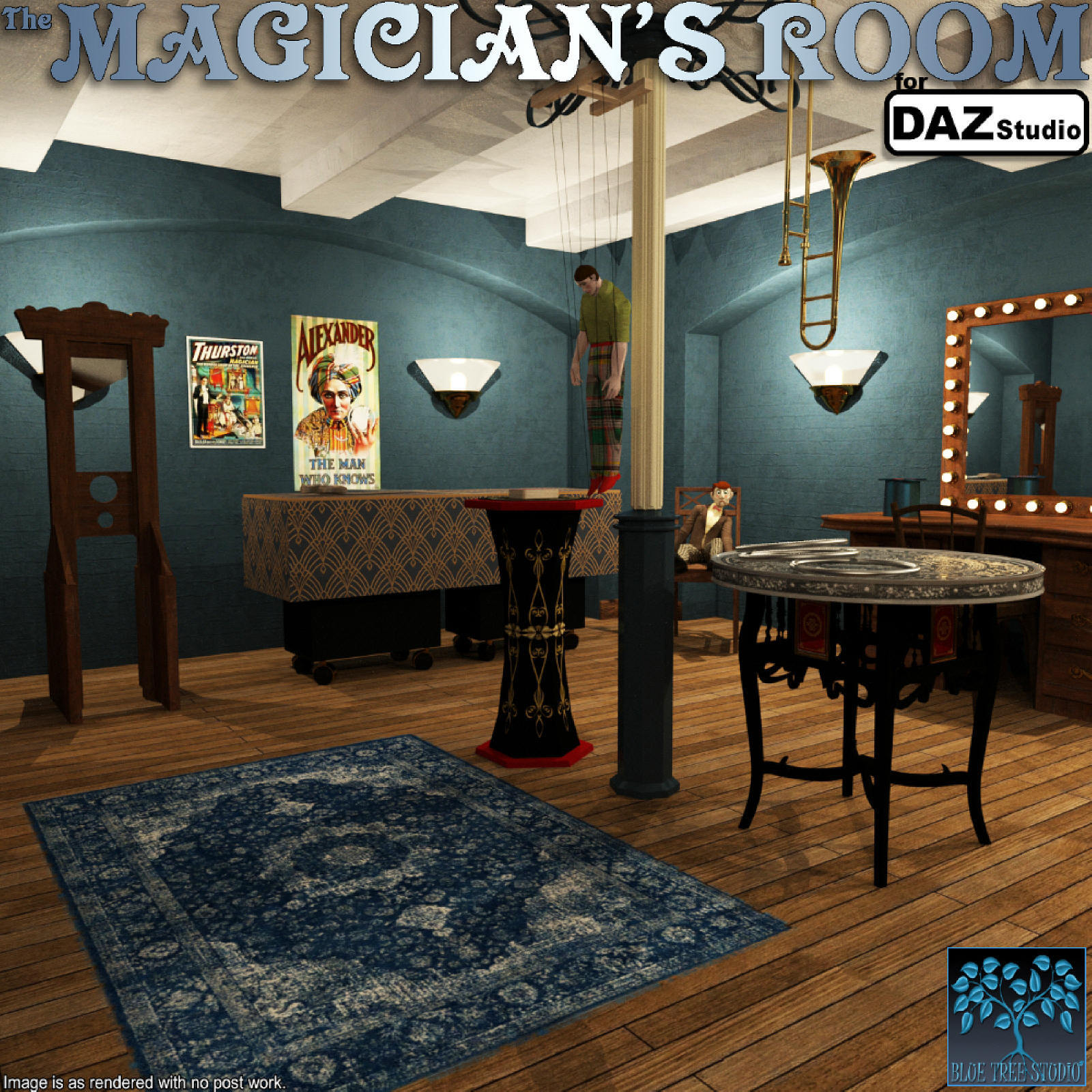 The Magician's Room for DAZ Studio