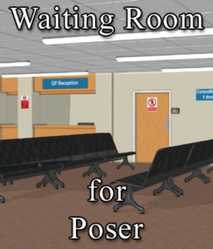 Waiting Room for Poser 3D Models VanishingPoint