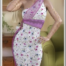 Shopping Queen - Floral Waterfall Dress image 6