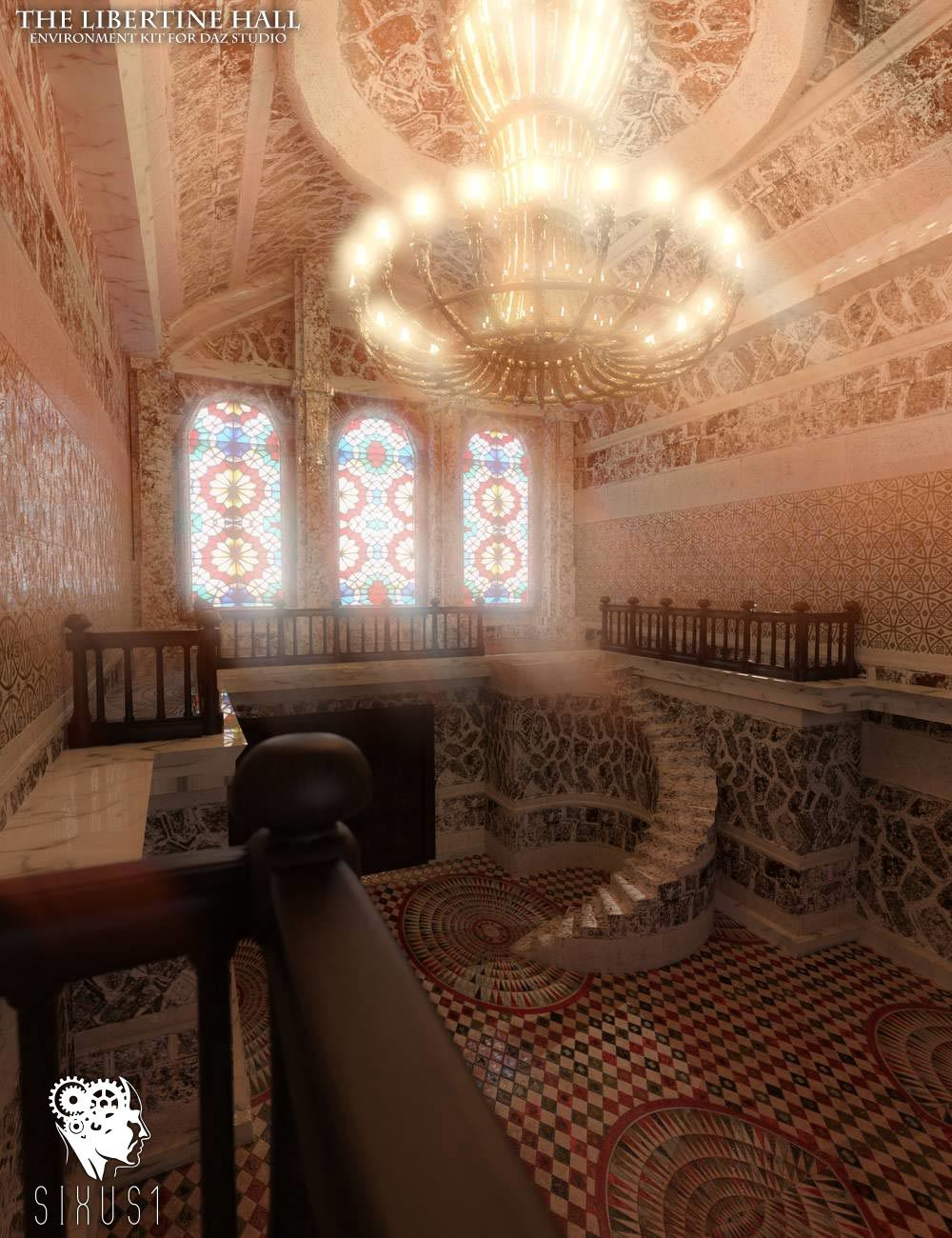 The Libertine Hall Environment Kit by RPublishing
