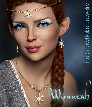 Wynntah Snowflake Jewelry by fabiana