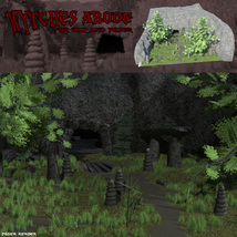 Wytches Abode for Daz and Poser image 2