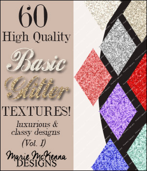 Basic Glitter Textures Collection I 2D Graphics Merchant Resources MarieMcKennaDesigns